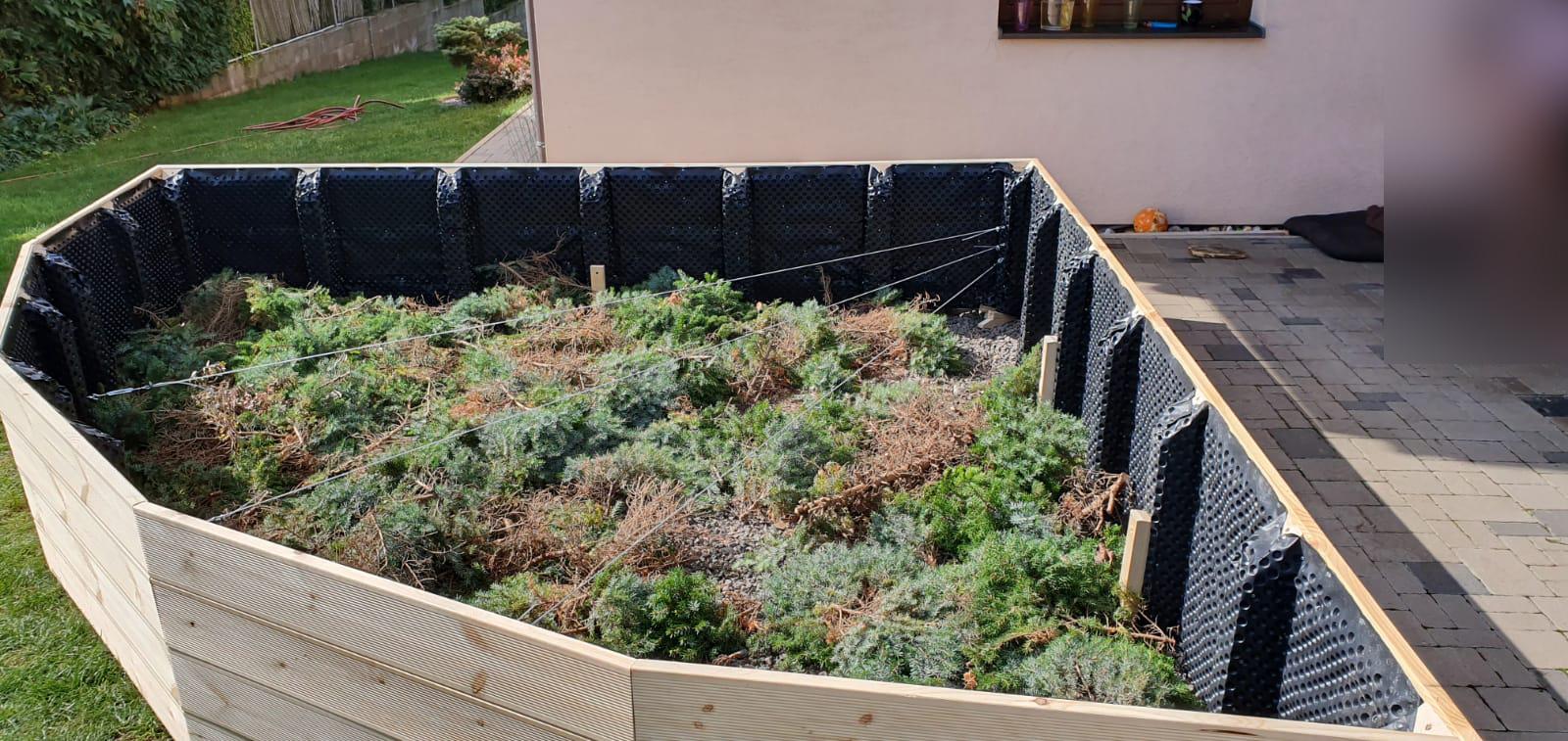 vyvýšený záhradný záhon na mieru Trenčín