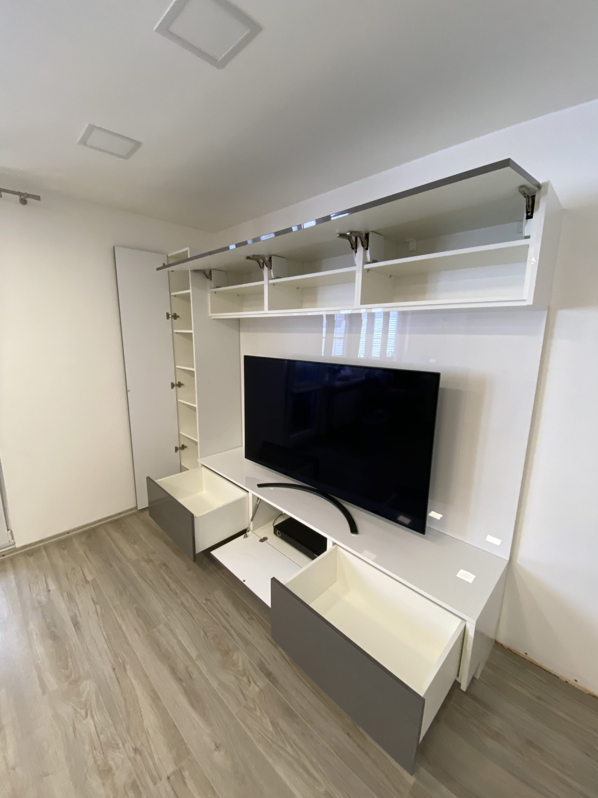 moderná obývačka na mieru